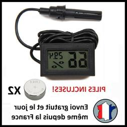 HYGROMETRE DIGITAL THERMOMÈTRE HUMIDITÉ LCD THERMOMETER HY