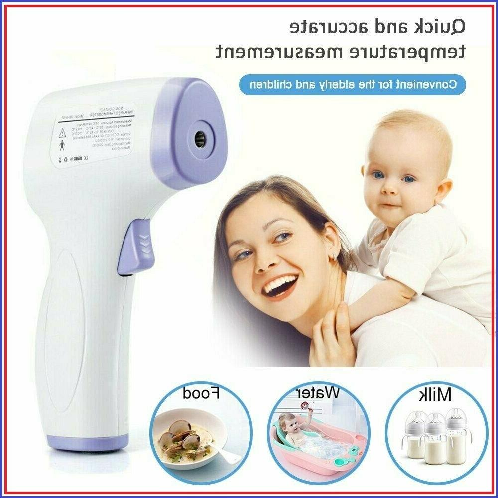 thermometre frontal numerique infrarouge sans contact bebe