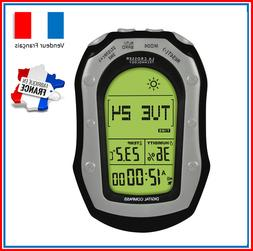 Station Meteo Portable Boussole Chronometre Altimetre Thermo