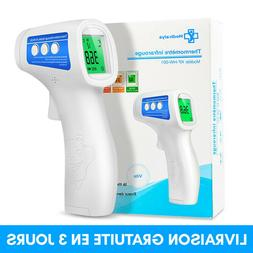thermometre frontal infrarouge sans contact temperature bebe