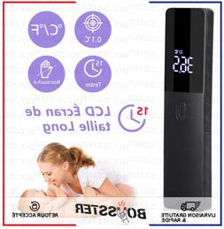 Thermometre Infrarouge Frontal Portable LCD Température Adu